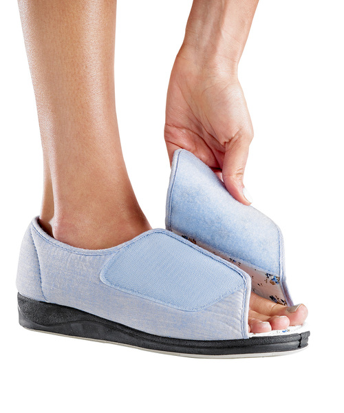 Ladies Velcro Shoes For Swollen Feet