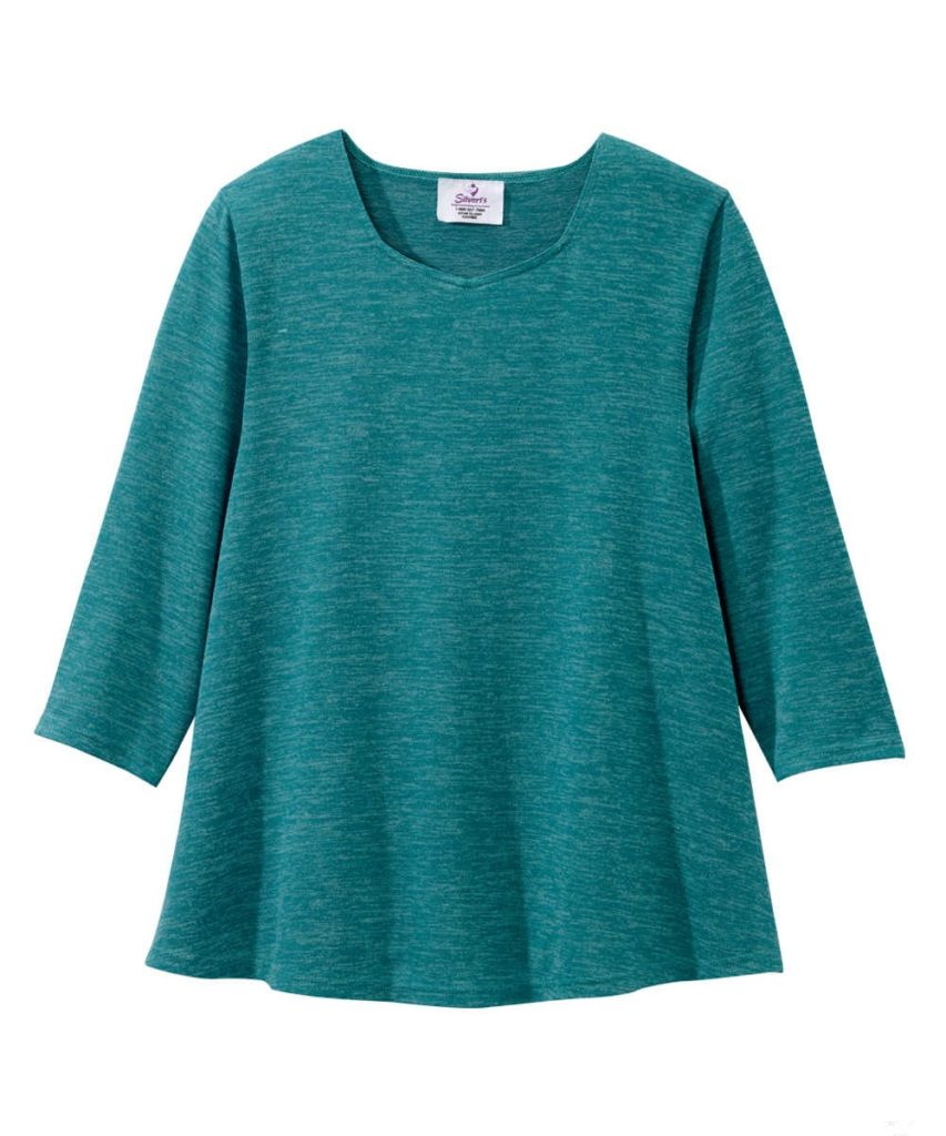 f4c4311885fc1 womens top emerald green 23610. Diamond-Neck ...